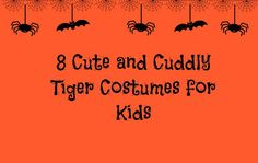 8 Cute and Cuddly Tiger Costumes for Kids