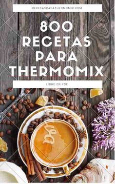 Libro gratis 800 recetas para Thermomix : descargate gratis el libro en pdf de recetas para thermomix, mas de 800 recetas de todo tipo, postres ... Thermomix Recipes Healthy, Thermomix Desserts, Chef Recipes, Wine Recipes, Recipies, Food N, Food And Drink, Delicious Deserts, Cookery Books