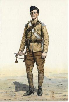 Alix Baker Postcard - AB14/5 Trumpeter, 21st (Empress of India's) Lancers, Sudan 1898