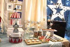 Circus Vintage Birthday Party Ideas | Photo 9 of 23