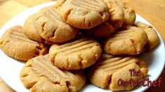 3 Ingredient Peanut Butter Cookies is an amazingly simple cookie recipe that anyone can make. Peanut Butter, sugar and an egg are combined then formed into cook
