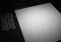 10 mosaïques d'exception : Micro-Brick de BRIX Design Nendo | #mosaïque #salledebain #design #black #white