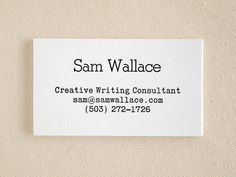 Kraft typewriter business cards editor style letterpress printed kraft typewriter business cards editor style letterpress printed rustic modern 50 7000 via etsy letterpress pinterest typewriters business reheart Gallery