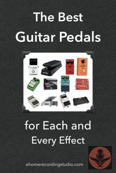 In this post, I show you the best guitar pedals for Wah, Compressors, Distortion, EQ, Harmonizing, Tremolo, Modulation, Volume, Delay, and Noise Gates.
