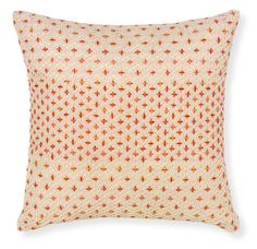 Rapee Fusion Coral Pillow design by Selamat