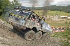 Tatra 6x6 off road race trucks - Pesquisa Google Road Rally, Road Racing, Huge Truck, Dodge Power Wagon, Expedition Vehicle, Dodge Trucks, Modern Warfare, Trials, Military Vehicles