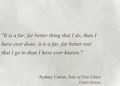 In a Tale of Two Cities Charles Darnay Quotes