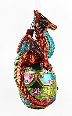 Jay Strongwater Dragon Christmas Ornament | Christmas ornaments ...