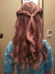 Holy Communion Hair Style Hair/Wedding Do's/Prom Hair