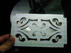 Calado de cofres de madera - 4.- después de realizar el paso numero 2 en el diseño de la tapa me dispuse a calar