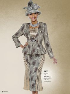 Susanna Ladies Suit 3577 - Divine Church Suits