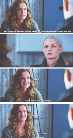 Zelena and Emma. Once Upon A Time Season 5 Episode 6