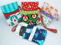 Susie D's Padded Smart Phone Pouch – PDF Sewing Pattern