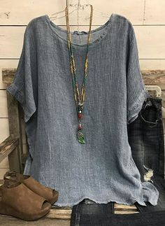 Shirts & Tops, Casual T Shirts, Casual Xl, Women's Tops, Tank Tops, Half Sleeves, Types Of Sleeves, Dresses With Sleeves, Short Sleeve Blouse
