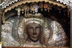 Παναγία Ιεροσολυμίτισσα: ΘΑΥΜΑΤΑ ΤΟΥ ΑΡΧΑΓΓΕΛΟΥ ΜΙΧΑΗΛ ΜΑΝΤΑΜΑΔΩΝ Η ΕΙΚΟΝΑ ... Houses Of The Holy, Byzantine Art, Archangel Michael, Orthodox Icons, I Icon, Saints, Religion, Statue, Blessing