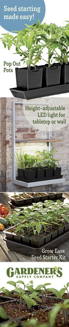 Gardener's Supply Co. has everything you need to get your garden growing right