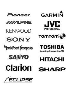 Free Logos Vector Brands Black & Decker, Ryobi, Bosch
