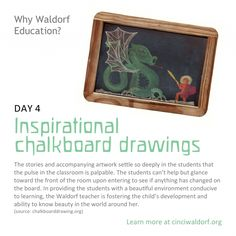 Day 4: Inspirational Chalkboard Drawings | Cincinnati Waldorf School