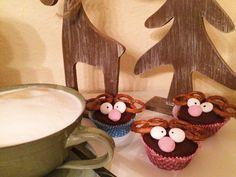 Rentiermuffins - toll auf der weihnachtlichen Kaffeetafel!