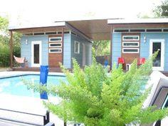 Backyard Poolside Oasis Getaway