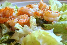 relaxotour: Fokhagymás garnéla salátával