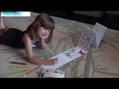 Vyrobte si bílé leporelo - YouTube Youtube