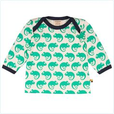 Shirt Chamäleons grün - loud and proud - Bio-Baumwolle - www.lolakids.de