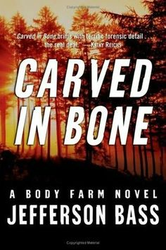 Body Farm series by Jefferson Bass  1. Carved in Bone (2006)  2. Flesh and Bone (2007)  3. The Devil's Bones (2008)  4. Bones of Betrayal (2009)  5. The Bone Thief (2010)  6. The Bone Yard (2011)  7. The Bones of Avignon (2012)