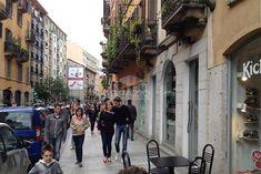 Temporary store milano corso garibaldi TS 40 Temporary Store, Bella, Street View, Travel