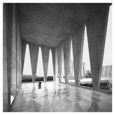 Barozzi Veiga - House in Cretas [Spain] #architecture #modern #brutalist #Spain