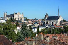 Poitiers. Frankrijk