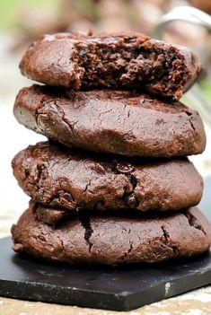 Homemade soft top recipe for Chocolate Fudge Cookies