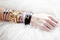 perfect combination of bracelets