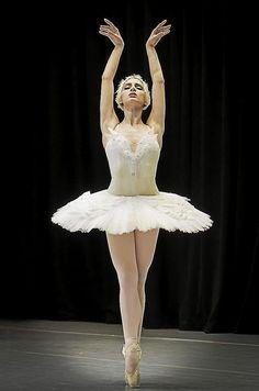 Esmiana Jani performing The Dying Swan on April 2013 Ballet Feet, Ballet Dancers, Ballet Images, Russian Ballet, Ballet Girls, Dance Fashion, Lets Dance, Swan Lake, Dance Art