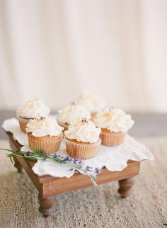 Lavender Honey Cupcakes with Tangerine Vanilla Mascarpone Cream icing. Got the cupcakes converted, next is to add the icing. Honey Cupcakes, Lavender Cupcakes, Yummy Cupcakes, Pretty Cupcakes, Pumpkin Cupcakes, Wedding Desserts, Wedding Cupcakes, Wedding Cake, Wedding Decorations