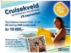 Bli med på vår populære Cruisekveld ved Rica Nidelven i Trondheim!