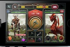Quest & Sorcery by MXMA, via Behance
