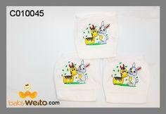C010045  Popok karakter  bahan halus dan lembut  IDR 25*/3pcs
