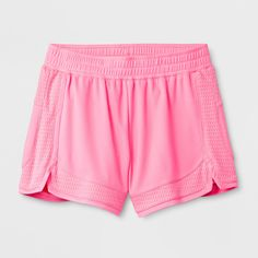 867d977a6e23 The Girls  Performance Mesh Short from C9 Champion is your new go-to for  daily or active wear. Breathable fabric wicks and dries fast to help keep  you cool ...