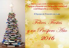 El Máster UAM-INCLUSIÓN PLENA os desea Felices Fiestas y un Próspero Año 2016