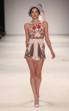 Alice McCall S/S 2012-13 | Trendland: Fashion Blog & Trend Magazine