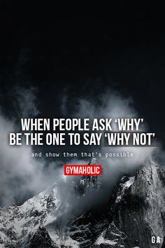 When People Ask 'Why'