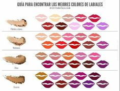 Guia para encontrar los mejores colores de labiales