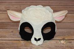 sheep mask Kids Sheep Costume, Baby Lamb Costume, Sheep Costumes, Nativity Costumes, Animal Costumes, Guinea Pig Costumes, Guinea Pig Clothes, Besties, Sheep Mask