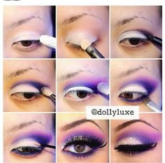 Join a growing community of fashioh lovers! Socialbliss is your source for inspiration, shopping and more. Purple Eye Makeup, Purple Eyeshadow, Eyeshadow Looks, Eyeshadow Makeup, Diy Beauty, Beauty Makeup, Beauty Hacks, Hair Makeup, Beauty Tips