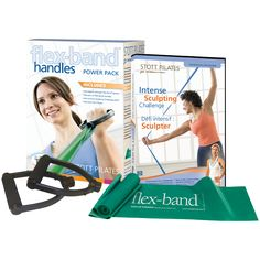 Stott Pilates Flex-Band With Handles Power Pack - - Get a comfortable grip on your workout with the Stott Pilates Flex-Band Handles Power Pack. The soft, foam grip handles are easy to assemble Pilates Equipment, Pilates Clothes, Muscular Endurance, Unique Hoodies, Muscle Groups, Physical Fitness, Challenges, Packing, Handle