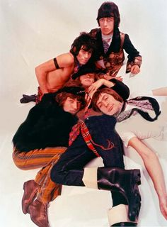 The Rolling Stones before they looked like old biker jackets with eyes.