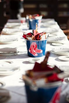 Our baseball themed #wedding Welcome Dinner