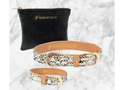 Friendship Collar Scaled Back + Dames Armband