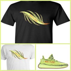 04de699105ab Details about EXCLUSIVE TEE T-SHIRT 2 to match ADIDAS YEEZY BOOST 350 V2  FROZEN YELLOW BELUGA